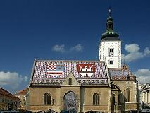 St Mark's or St Marco Church in Zagreb